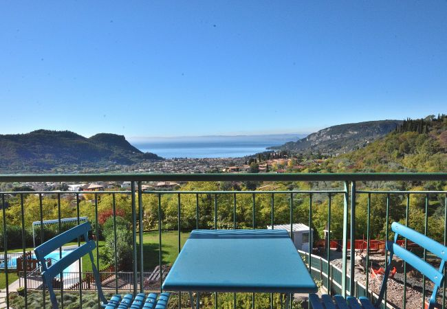 in Costermano - Casa Montegolo With Pool And Lake View