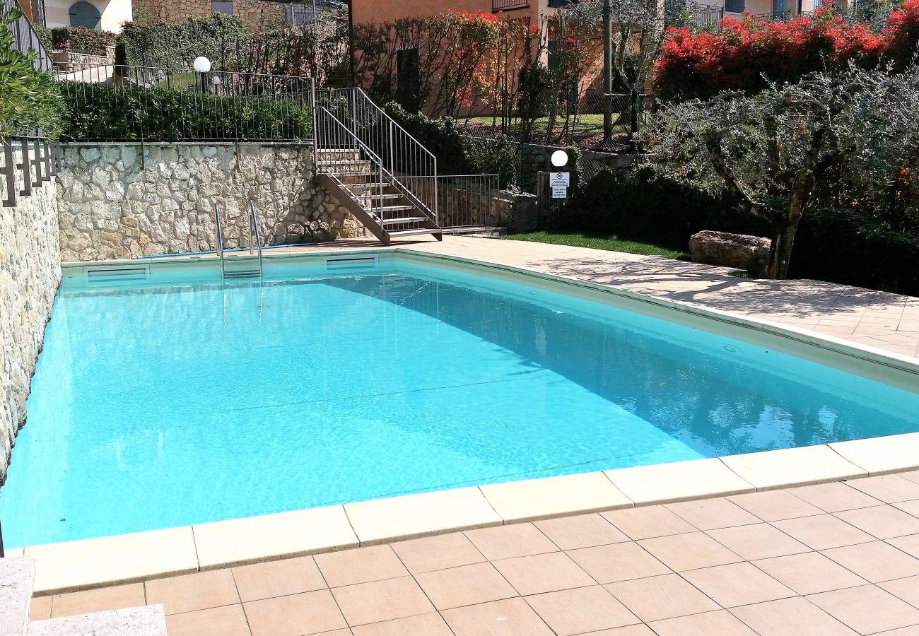 Apartment in Torri del Benaco - Apartment Bardino with Pool and Lake View